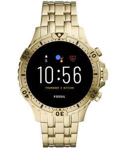 Men's Gen 5 HR Gold-Tone Stainless Steel Bracelet Touchscreen Smart Watch 46mm