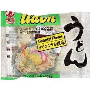 Myojo Udon Oriental Flavor Noodles, 7.22 oz