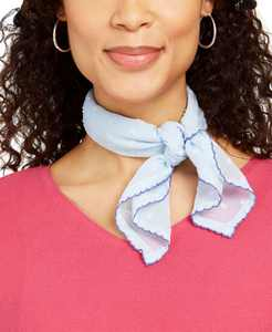 INC Scalloped-Edge Bandana, Created for Macy's