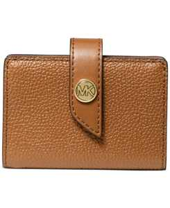 Tab Leather Card Case