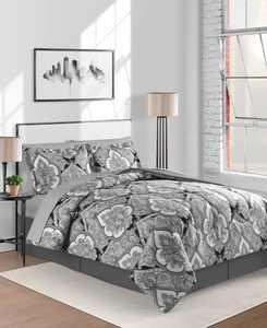 Gotham Reversible 8-Pc. King Comforter Set