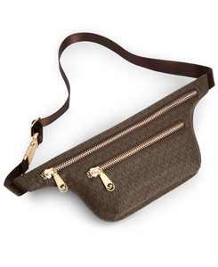 Double-Zip Signature Belt Bag