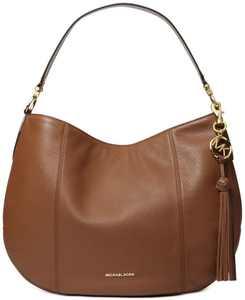 Brooke Large Zip Leather Hobo