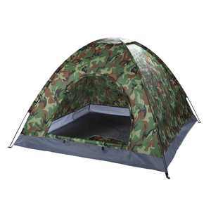 Ktaxon 4 person Outdoor Camping Tent Folding Hiking Tent for summer Camouflage