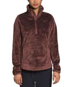 Osito Raschel-Fleece Quarter-Zip Pullover