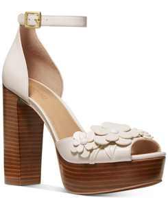 Flora Platform Sandals