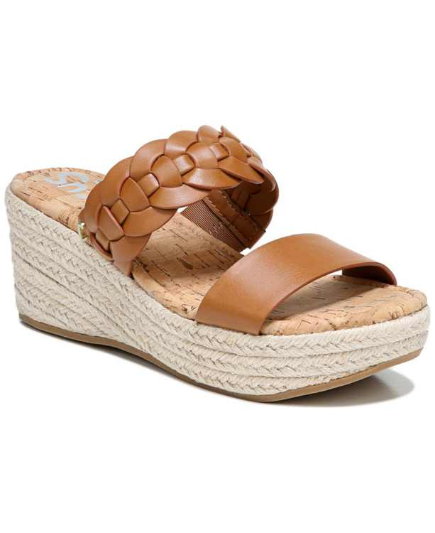 Remy Braided Wedge Sandals