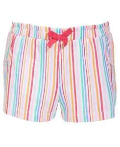 Baby Girls Rainbow Stripe Cotton Shorts, Created for Macy's
