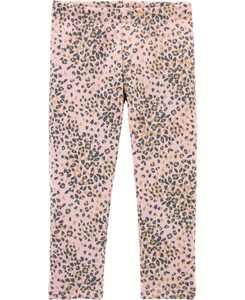 Baby Girl Leopard Cozy Fleece Leggings