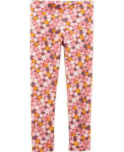 Baby Girls Floral Leggings