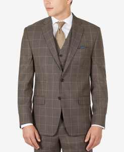 Men's Ultraflex Classic-Fit Wool Suit Jacket