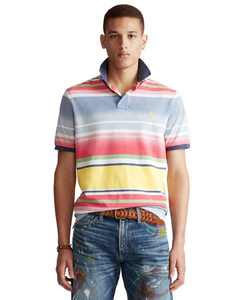 Men's Classic-Fit Striped Polo Shirt