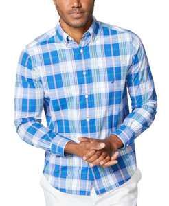 Men's Classic-Fit Plaid Shirt