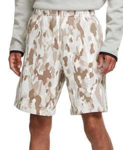 Men's Camouflage Fleece Shorts