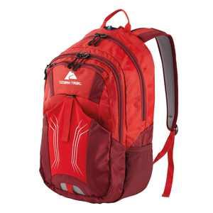 Ozark Trail 25L Stillwater Backpack, Hydration-Compatible, Red