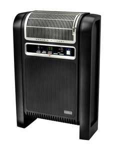 Lasko 1500W Ceramic Space Heater with Ionizer and Remote, 760000, Black