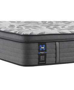 """Premium Posturepedic Satisfied II 14"""" Cushion Firm Pillow Top Mattress- Queen"""