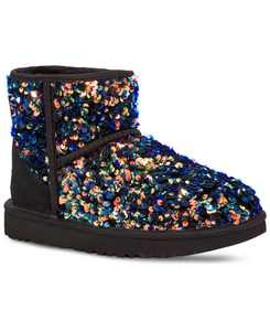 Mini Stellar Sequined Booties