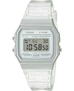 Unisex Digital Clear Jelly Strap Watch 35.2mm