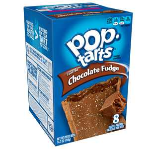Pop-Tarts Breakfast Toaster Pastries, Frosted Chocolate Fudge, 8ct 14.7oz