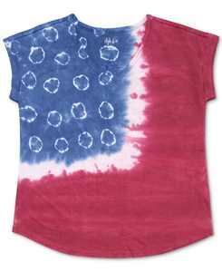 Tye-Dyed American Flag T-Shirt, Created for Macy's