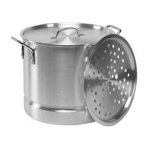 Imusa 20qt Tamale/Seafood Steamer with Rack & Lid