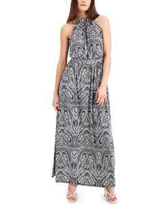 Paisley-Print Halter Maxi Dress, Created for Macy's