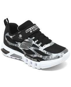 Little Boys S Lights Flex-Glow Taren Slip-On Casual Sneakers from Finish Line