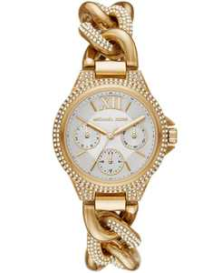 Camille Multifunction Gold-Tone Stainless Watch