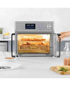 26 Quart Digital Maxx Air Fryer Oven, Stainless Steel