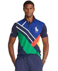 Men's US Open Ballperson Custom Slim Fit Polo Shirt
