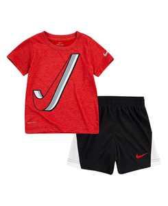 Little Boys Dry-Fit Drop Set T-shirt and Shorts Set, 2 Piece