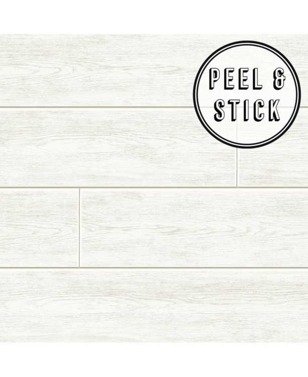 Wood Plank Peel and Stick Wallpaper