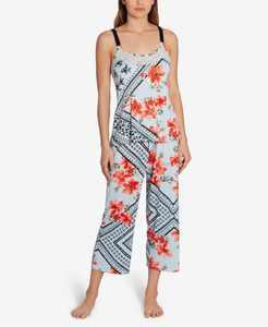 Marabel Patch Capri Pajama Set