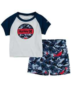 Baby Boys Shark Bait Swim Set