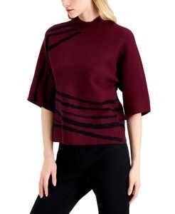 Kimono-Print Sweater, Created for Macy's