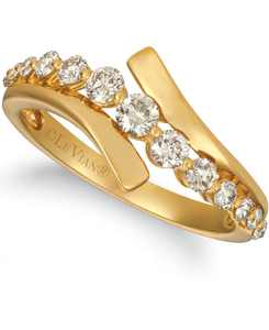 Nude Diamond Statement Ring (5/8 ct. t.w.) in 14k Gold