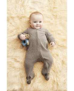 Baby Boys 1-Pc. Striped Dog Cotton Coverall