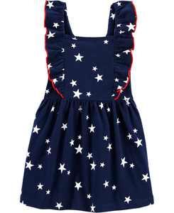 Toddler Girls Star Jersey Dress