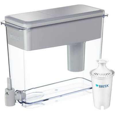 Brita Extra Large 18-Cup BPA Free Filtered Water Dispenser - Gray