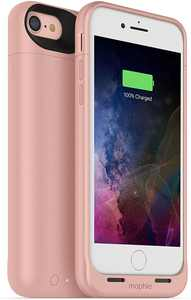 Mophie Juice Pack Air 2525mAh Battery Charge Case for iPhone 8 & iPhone 7, Rose Gold