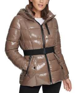 Shine Hooded Puffer Coat
