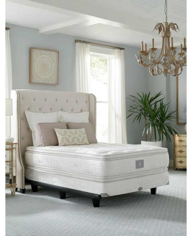 "Classic by Shifman Alexandra 16"" Luxury Plush Box Top Mattress Set - Queen Split, Created for Macy's"