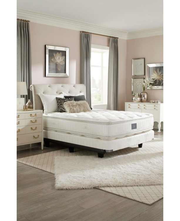 "Classic by Shifman Catherine 14.5"" Plush Pillow Top Mattress Set - Full, Created for Macy's"