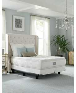 "Classic by Shifman Meghan 15"" Luxury Plush Pillow Top Mattress Set - Queen Split, Created for Macy's"