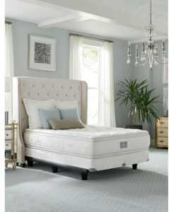 "Classic by Shifman Meghan 15"" Luxury Plush Pillow Top Mattress Set - Twin, Created for Macy's"