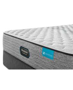 """Harmony Lux Carbon 12.5"""" Extra Firm Mattress Set - Queen"""
