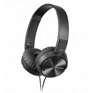 Sony Noise Canceling On-Ear Wired Headphones (MDRZX110NC)