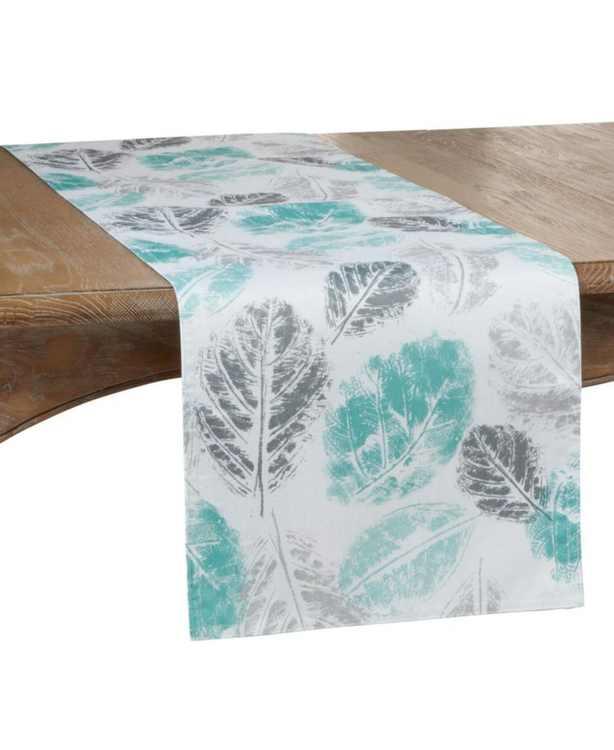 Leaf Print Runner