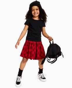 Little Girls Solid Basic T-shirt, Created for Macy's